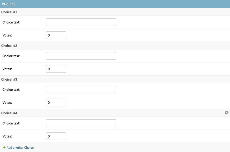 Writing your first Django app, part 7 | Django documentation | Django